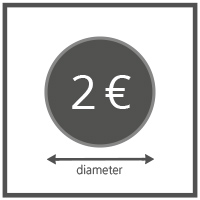 Money Counter: Coin size