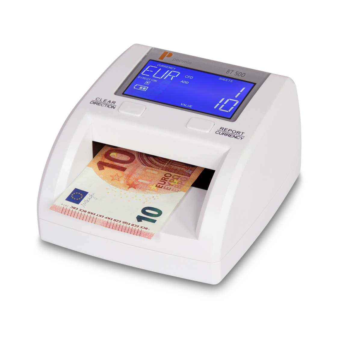 Counterfeit detector Pecunia BT 500 update