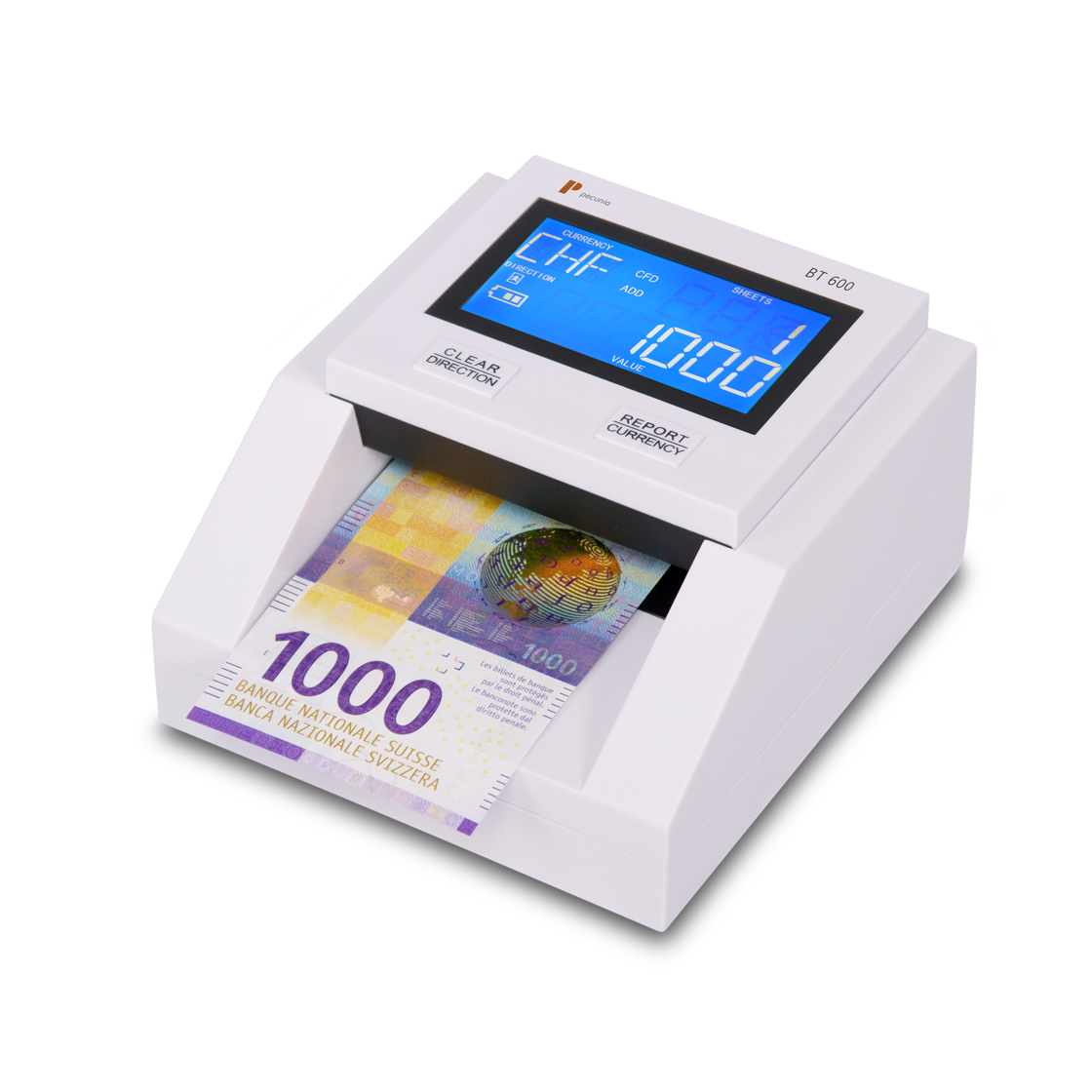 Counterfeit detector Pecunia BT 600 mobile