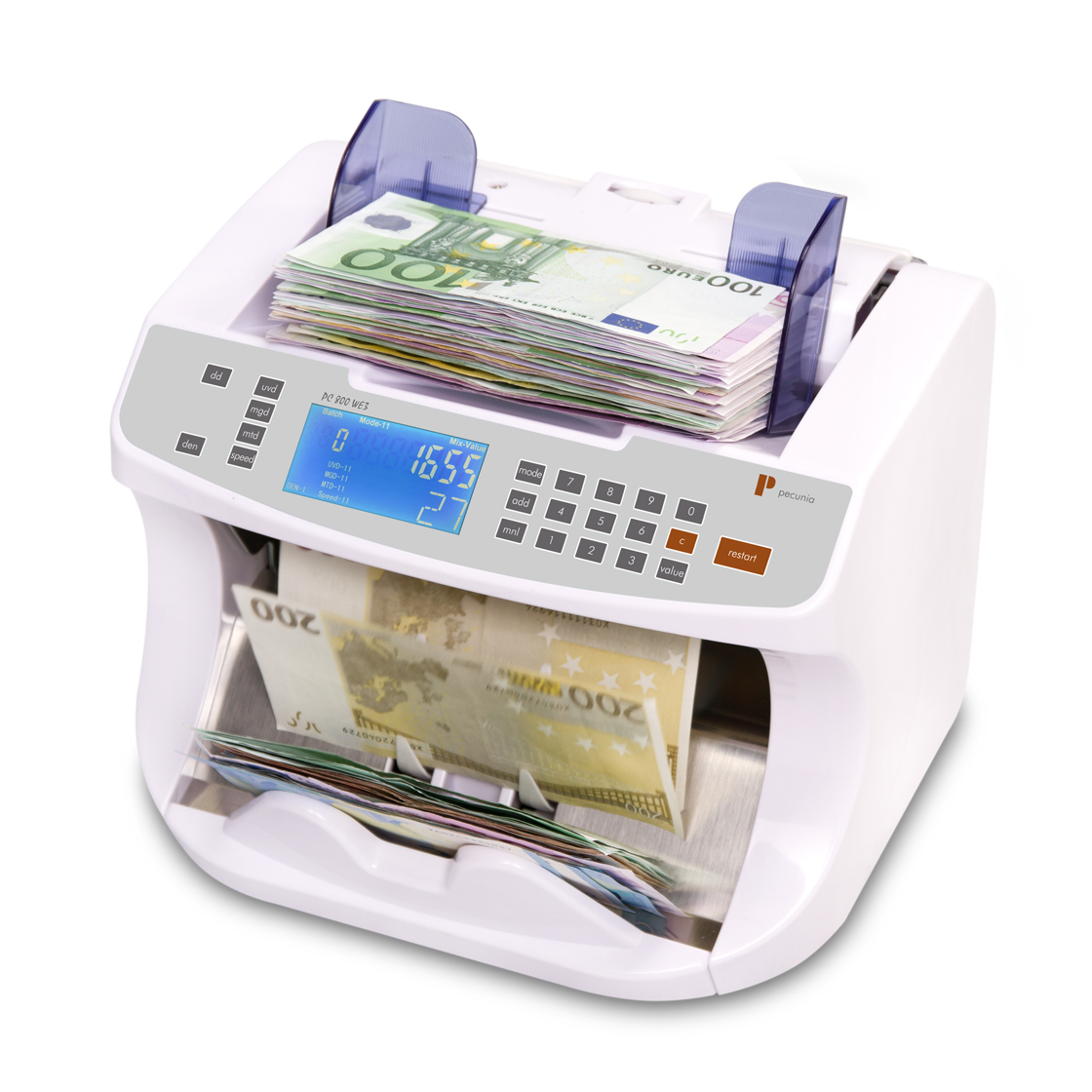 Banknotenzähler Pecunia PC 800 WE3