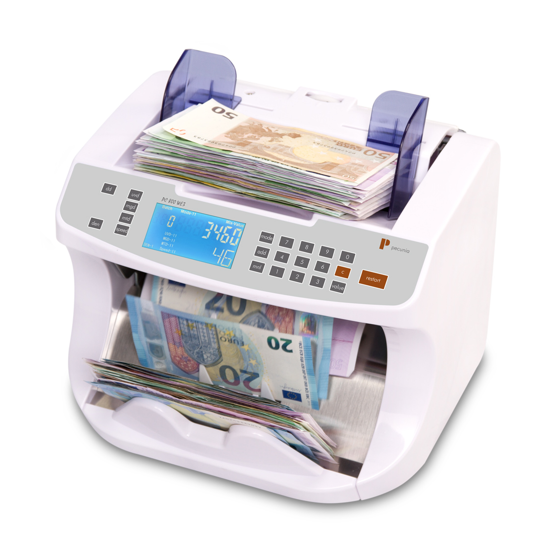 Banknote counters Pecunia PC 800 WE3
