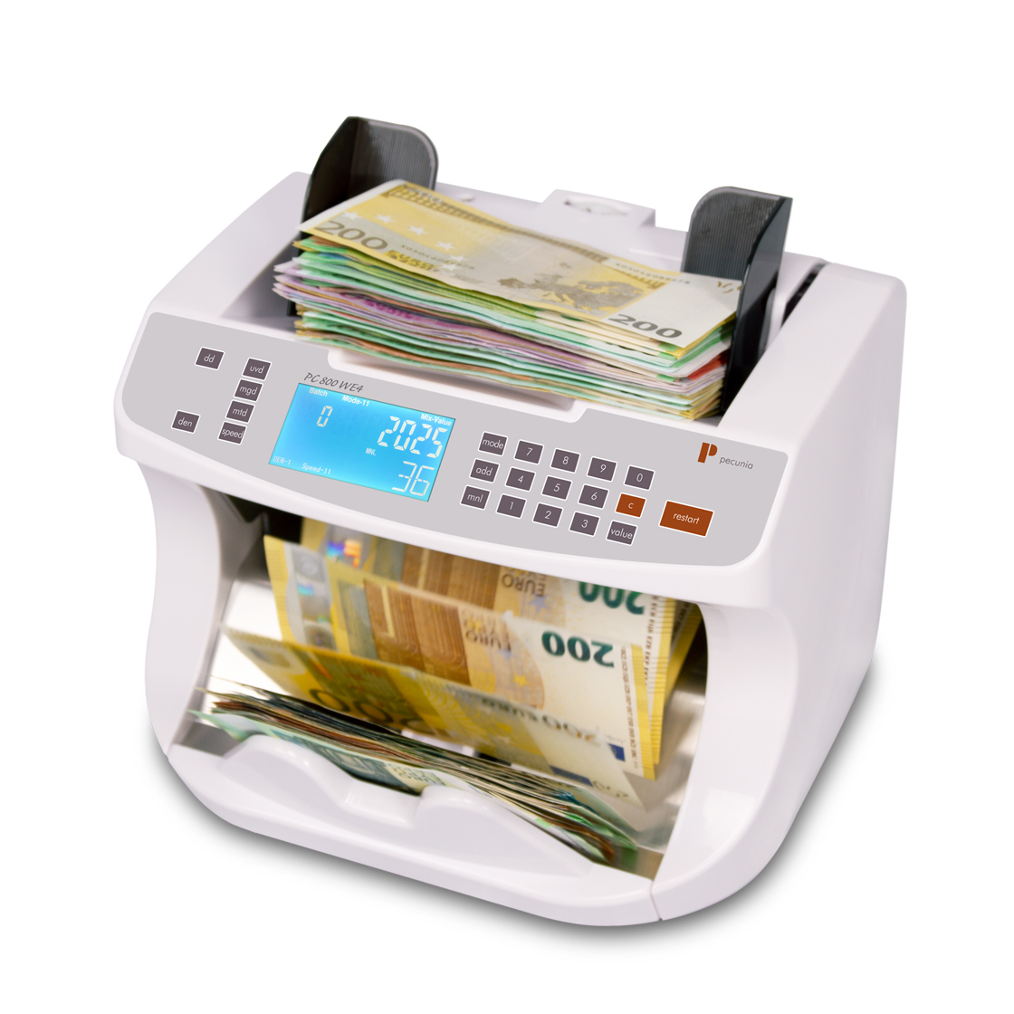 Banknote counters Pecunia PC 800 WE4