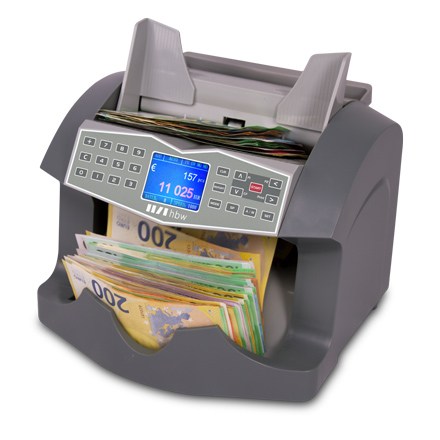 Banknote counters hbw VC 6040 Euro