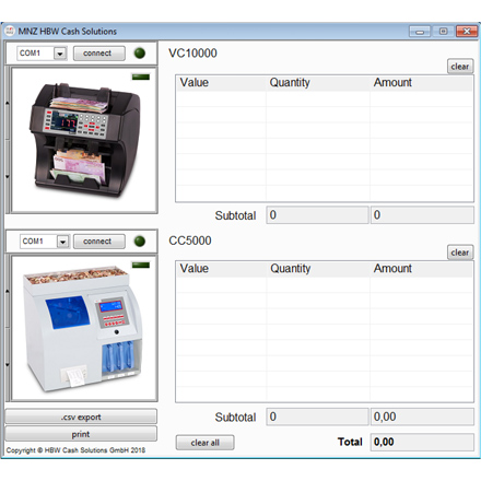 Accessories MNZ CashManagementSoftware